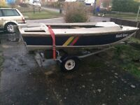 13ft dory style boat