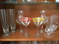 6 Cocktail Glasses (Collect Only)