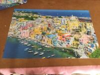 The island of Procida jigsaw Italy