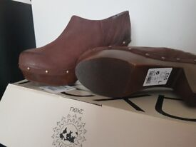 Never worn clog style heels, Size 6.5