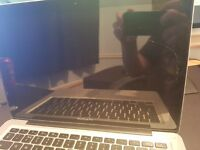 Macbook pro 13 condition (Works completely fine, exterior however is bad)