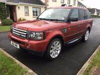Range Rover Sport 4.2 Super charged Lots of good history. Must go urgently!