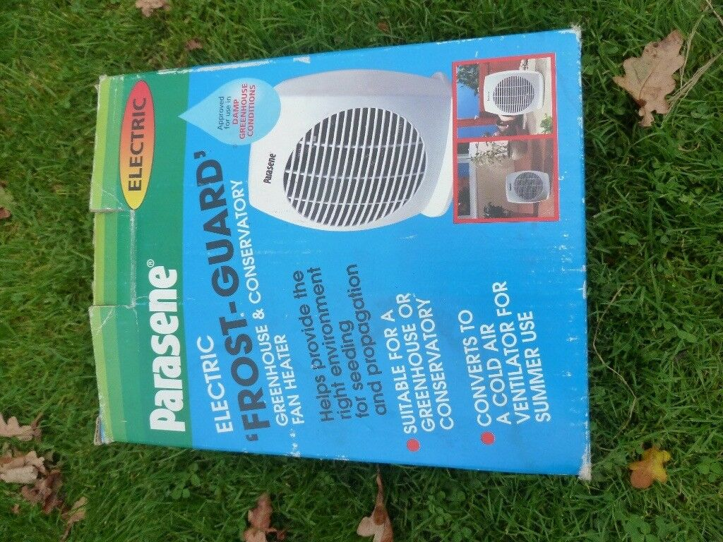 PARASENE ELECTRIC GREENHOUSE/CONSERVATORY HEATER