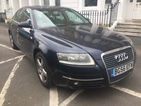 2006 AUDI A6 2.4L SE SALOON AUTOMATIC CVT WITH 93000 MILES FROM NEW
