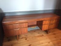 ❤️Teak mid-century desk / dresser❤️