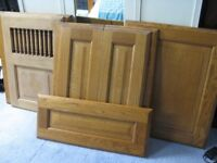 7 Solid Oak Kitchen Doors - £5 each or £30 for all