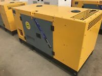 Generator 25 KVA year 2016 UNUSED NEW