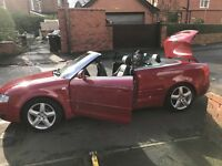 Audi A4 convertible, sold as seen.