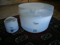 Tommee Tippee Electronic Steriliser and bottle warmer