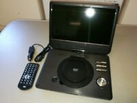 PRE-OWNED Tesco Bascis T10PDVD17 Portable DVD Player