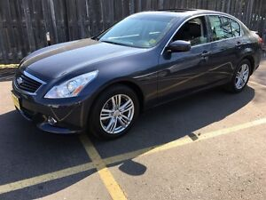 2013 Infiniti G37 Sport, Leather, Sunroof, AWD, Only 38, 000km