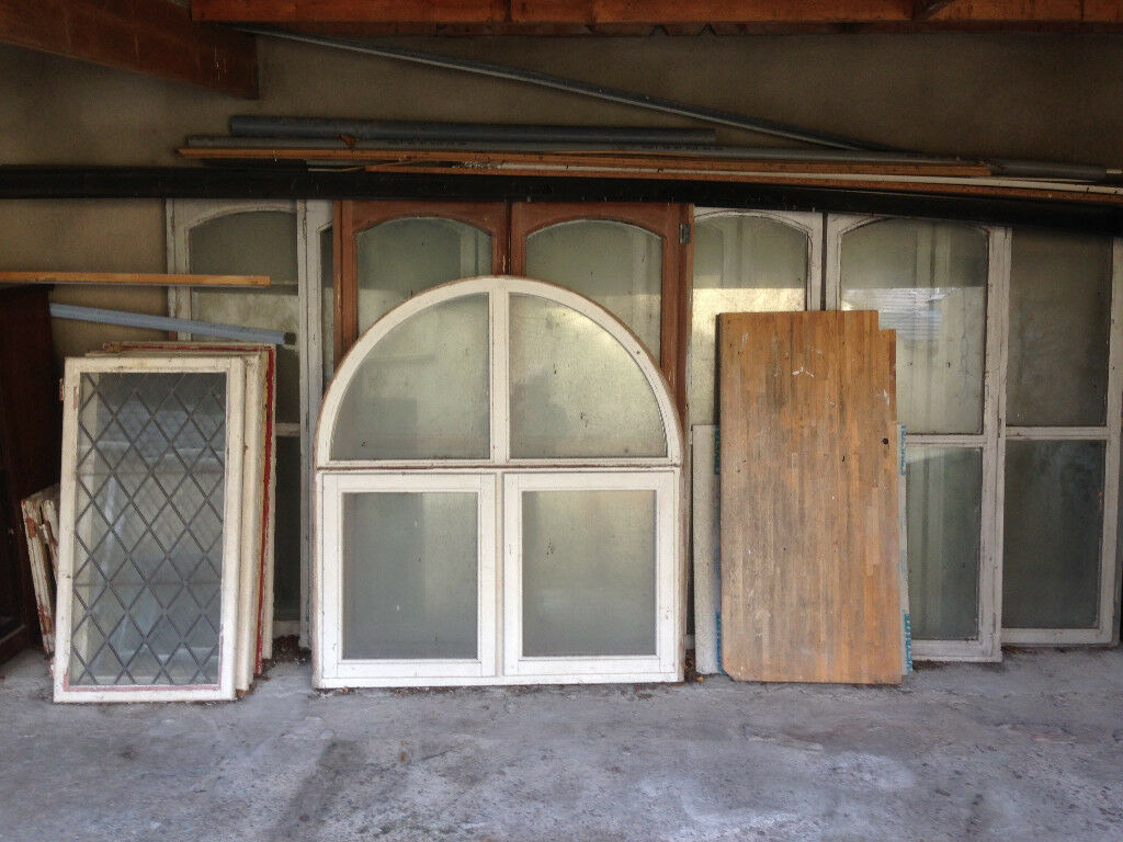 Windows - various sizes, some double glazed
