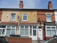 3 BEDROOM HOUSE TO LET, PERRY BARR, MAIDSTONE ROAD, NEWLY DECORATED