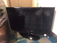 "Samsung 40"" Television - faulty display - repair job or spare parts - bargain"