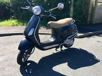 Piaggio Vespa LX50 50cc Automatic Scooter - Black