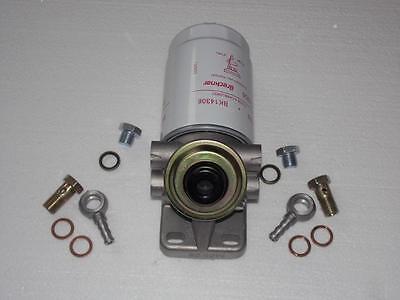 Gehäuse Dieselfilter Kraftstofffilter Handpumpe Förderpumpe Pumpe Filter Neu