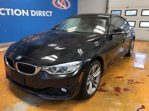 2015 BMW 428 i xDrive NAVI/ HEATED LEATHER/ SUNROOF/ REVERSE...