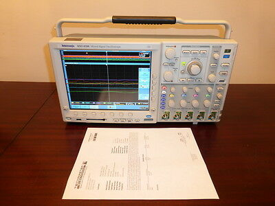 Tektronix Mso4104 1 Ghz 4 Channel 5 Gss Mixed Signal Oscilloscope Calibrated