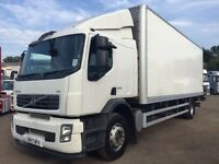 QUICK SALE OF MINT CONDITION VOLVO FE 18 TONE ,26 FOOT BOX ,SLEEPER,GOOD TIRES AND ENGINE