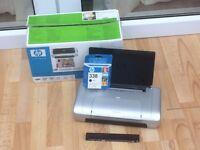 HP Deskjet 460cb mobile printer with battery included