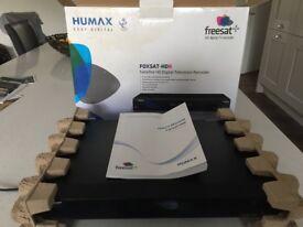 HUMAX FOXSAT HDR FREESAT TWIN RECORDER