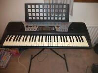 Yamaha PSR-175 keyboard & stand