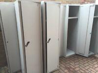 Metal lockers,no keys,good condition
