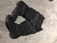 WORN ONCE!! Size 5 NEW LOOK boots.