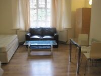 twin size room in shared flat furnished in finchley road stn area