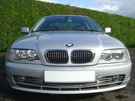 PRICE REDUCED Lovely original BMW 330, 330 ci Coupe, Manual, 5 Speed, Future classic