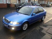 ROVER,45,SPIRIT,S,1.4cc.2002,5DR,BLUE,MANUAL