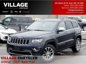 2014 Jeep Grand Cherokee Limited|Sunroof|8.4Uconnect|Remote