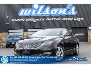 2015 Lincoln MKZ I SUNROOF   GPS NAV   HTD FRONT AND REAR SEATS