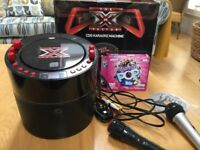 X FACTOR CDG KARAOKE MACHINE & EXTRA MIC