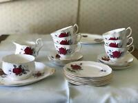 Royal Albert Sweet Romance tea set