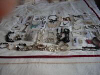 COSTUME JEWELLERY COLLECTION 50 items