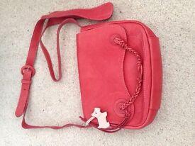 Radley Red Leather Shoulder Bag
