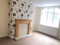 A rustic brick 2 bed unfurnished terrace house, Ulleskelf, LS24 9DT. Between Leeds & York. £550 pcm