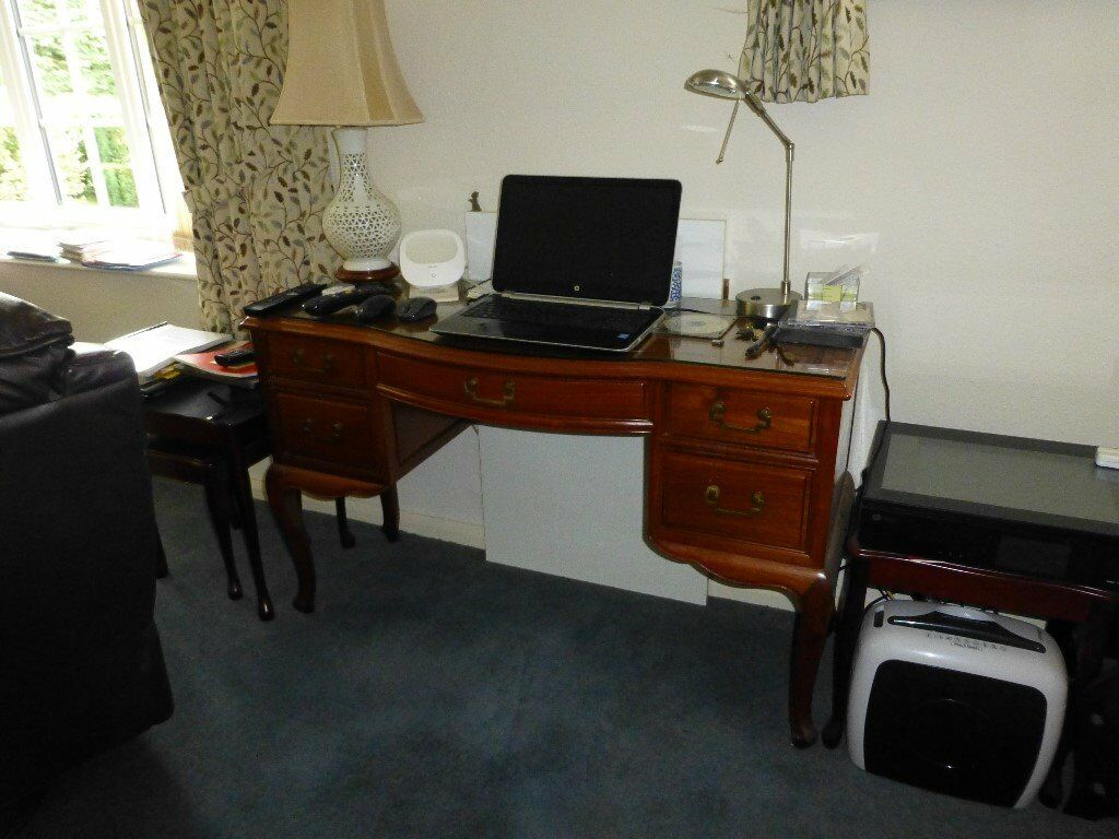 small desk believed to be nearly 50 years old in Rosewood mint condition