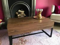 NEXT contemporary coffee table with storage - excellent like NEW condition