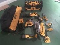 Dewalt 18v cordless 15pc kit