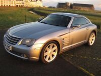 Chrysler Crossfire Coupe Auto, low miles, full service history
