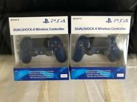 SONY PLAYSTATION 4 CONTROLLERS - BRAND NEW AND SEALED FOR PS4