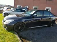 BMW 530d msport 05 plate