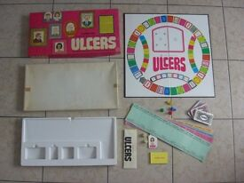 Vintage Waddingtons ULCERS Board Game Complete Instructions Included Ages 9 - 90 COMPLETE
