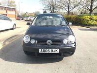Volkswagen Polo 5door 2005 £1250