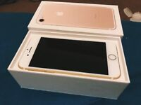 Iphone 7 128GB Gold Mint condition!
