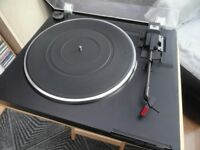 hifi audio record player sansui pd15 direct drive turntable