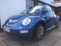 Volkswagen Beetle 1.6 3dr PARTS & LABOUR WARRANTY