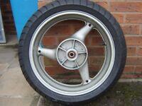 honda hornet 600 cb600 cb 600 rear wheel with tyre